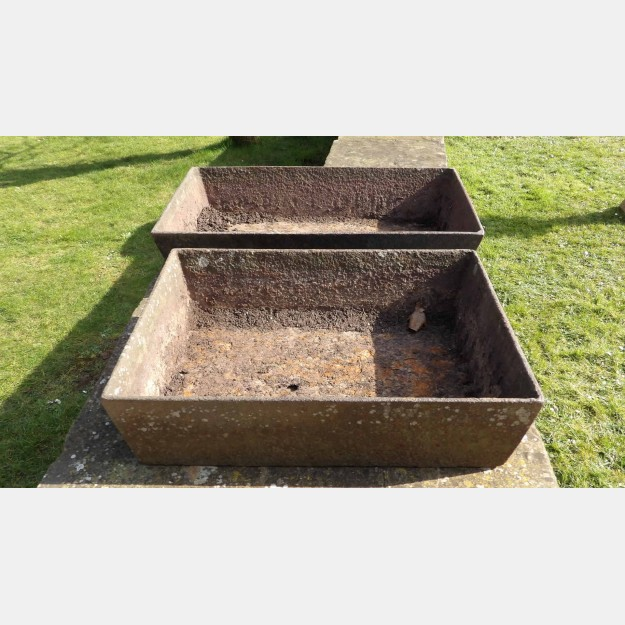 Old Cast-iron Planters