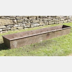 Long Cast-Iron Trough