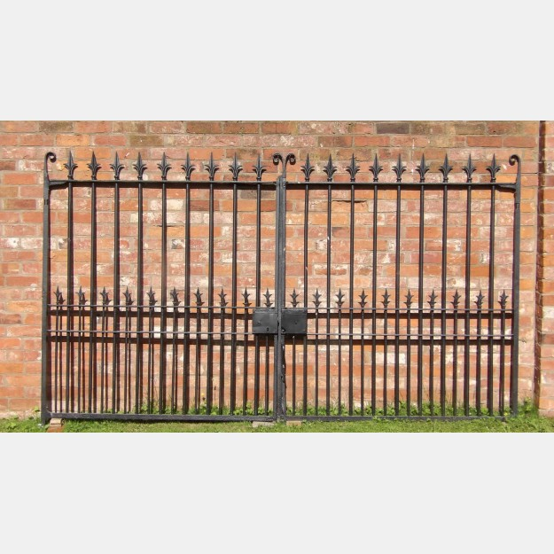 Pair of Old Drive Gates