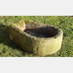 Antique Horseshoe Trough